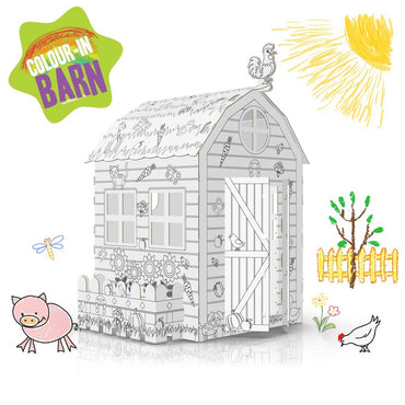 COLOUR-IN FARMHOUSE