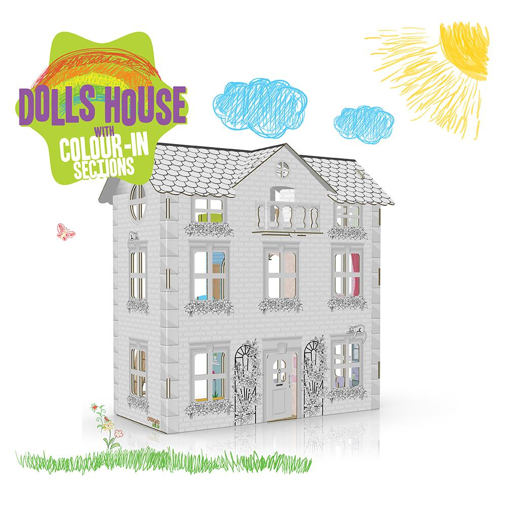 COLOUR IN DOLLS HOUSE