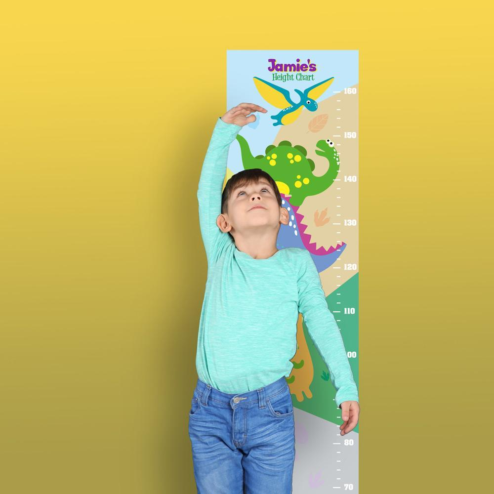Height Charts (Dinosaur) (Personalised)
