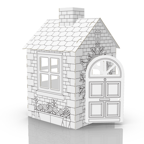 COLOUR-IN PLAY HOUSE