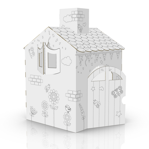 COLOUR-IN MINI HOUSE