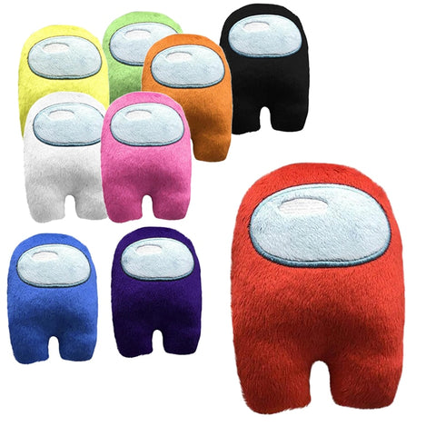 among us plushie Dolls For Kids, Cotton Among As Toys With Squeeze Sound Among Us Plushie