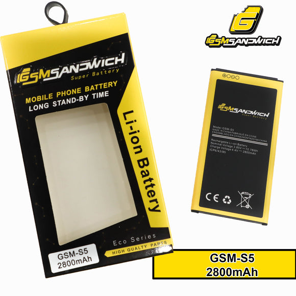 GSMSANDWICH Super Battery SAMSUNG S5