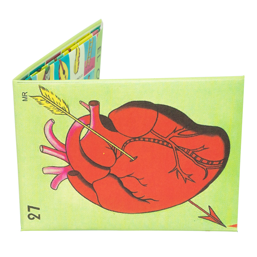 Loteria Corazon Mini Wallet