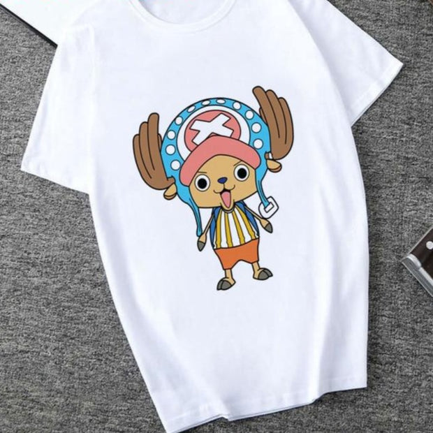 Funny Luffy Zoro Graphic T Shirt - uzamakianime