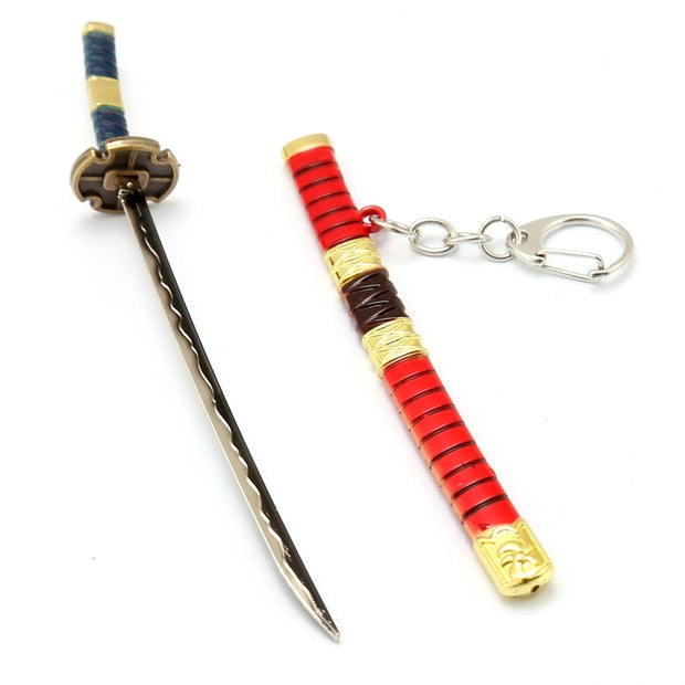 Anime One Piece Snow Knife Keychain - uzamakianime