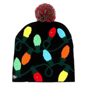 LED Christmas Beanie Ugly Christmas Sweater Christmas Hat Beanie - uzamakianime