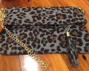 Leopard clutch/crossbidy