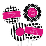 Little Diva Party Circles