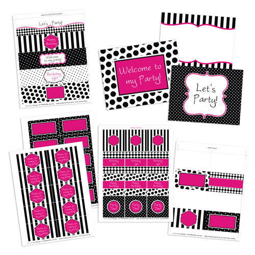 Little Diva Party Kit