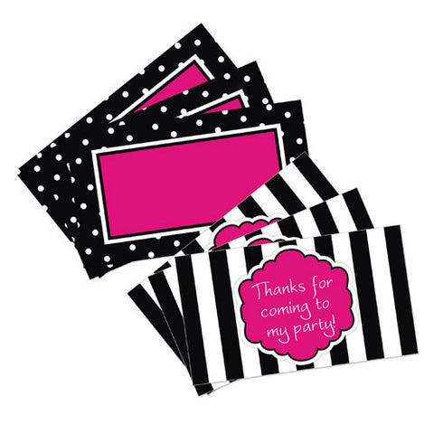 Little Diva Favor Tags