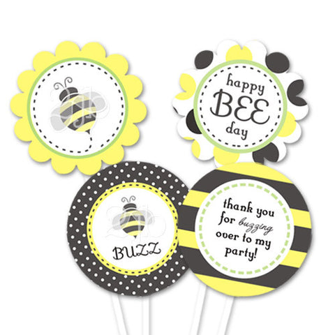 Bumblebee Party Circles