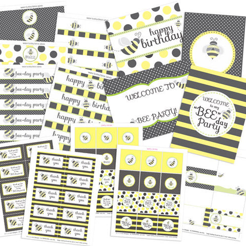 Bumblebee Party Kit