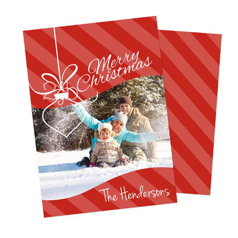 Christmas Photo Card - Ornament