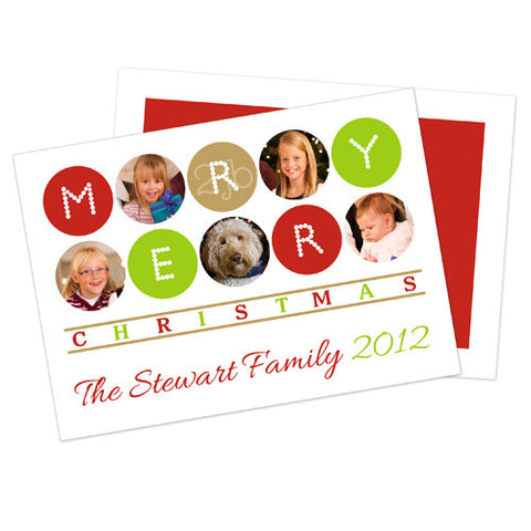 Christmas Photo Card - Merry Christmas