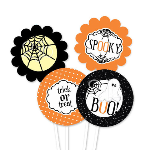 Halloween Party Circles