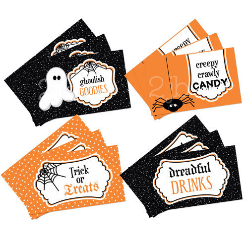 Halloween Favor Tags