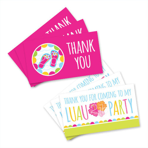 Luau Favor Tags