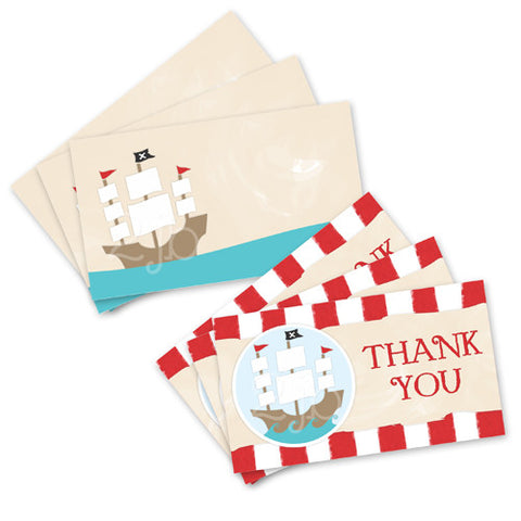 Pirate Favor Tags