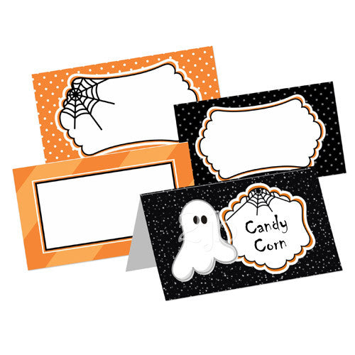 Halloween Table Tent Cards