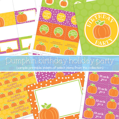 Preppy Pumpkin Party