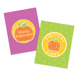 2 june bugs Pumpkin Party Printables - Party Signs