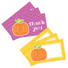 2 june bugs Pumpkin Party Printables - Favor Tags