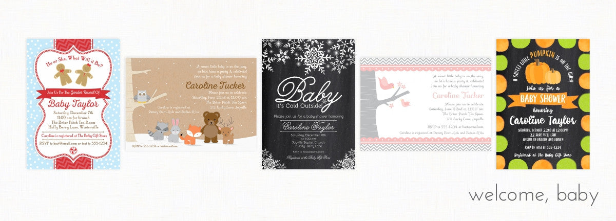 2 june bugs - Baby Shower Invitations