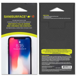 3194 Sanisurface Antimicrobial Cell Phone Screen Protector