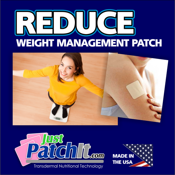 JUST PATCH IT - REDUCE WEIGHT LOSS PATCHES-  30 Weight Management Transdermal Patches