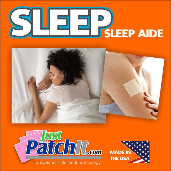 JUST PATCH IT - SLEEP PATCHES-  30 Sleep Transdermal Patches