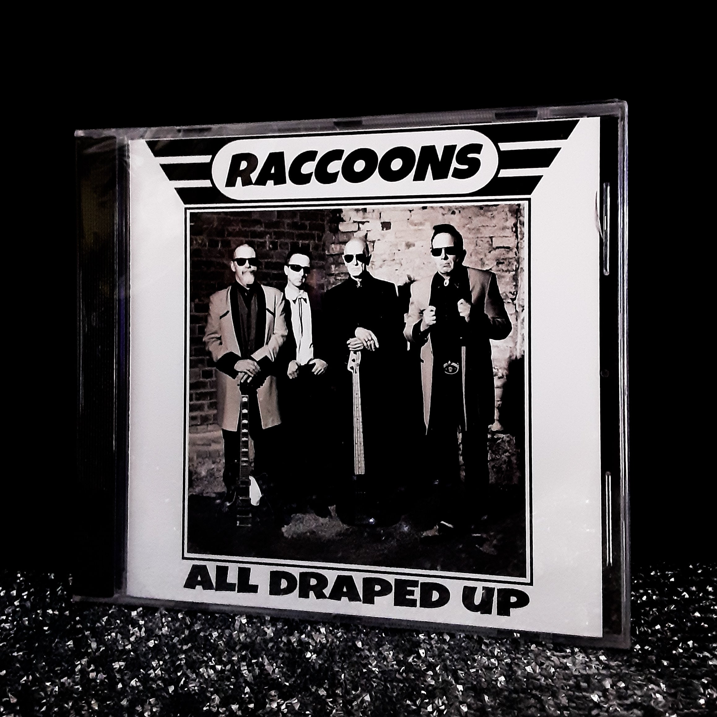 """Raccoons - All Draped Up"" Original CD"