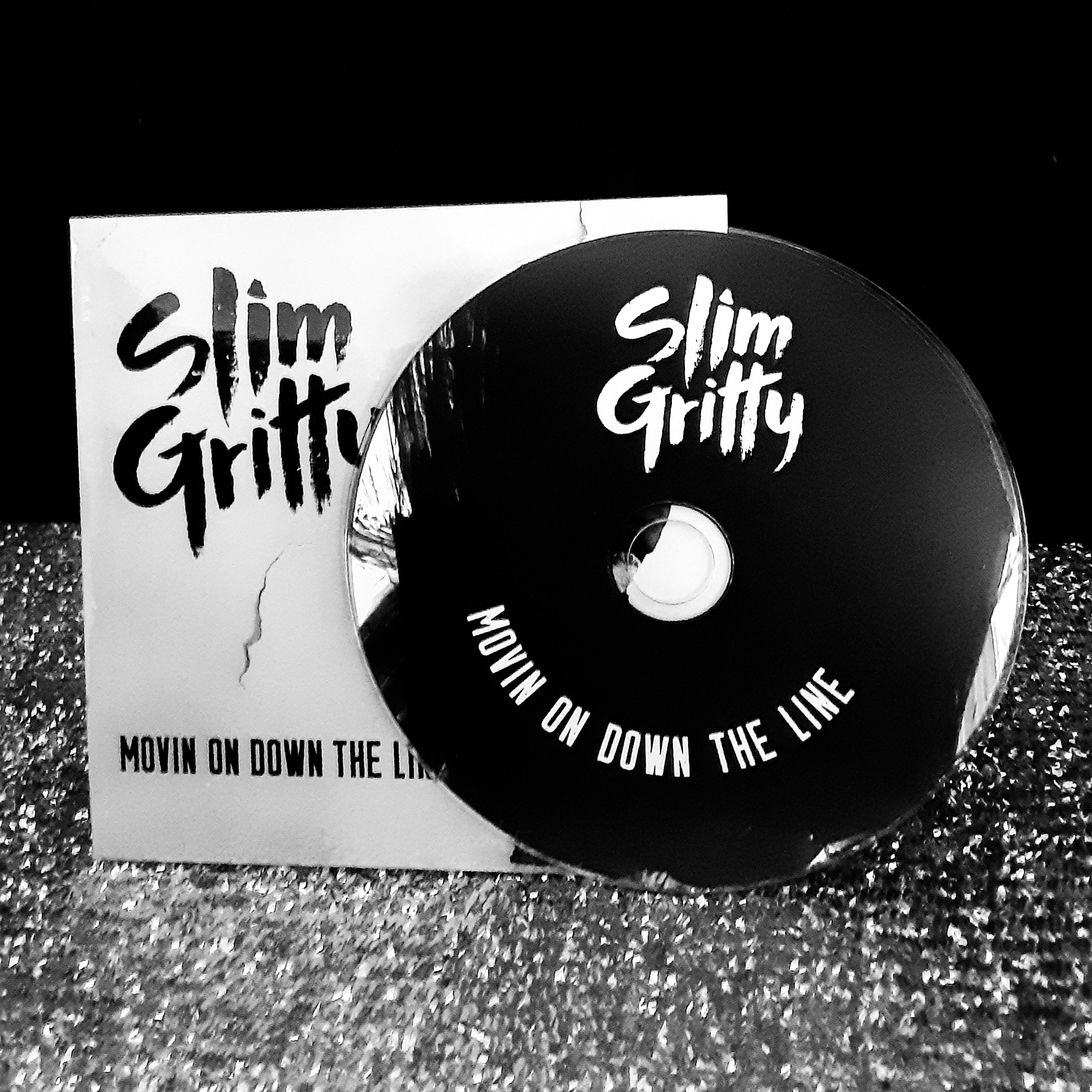 """Slim Gritty - MOVIN ON DOWN THE LINE"" Original CD"