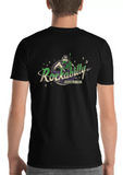"Show off your love for rockabilly and look great in one of our super comfortable 100% cotton ""Rockabilly Australia"" printed mens crew shirts! Available in sizes Small to 3XL and in ladies 6 to 20 from rockabillyaustralia.com!"