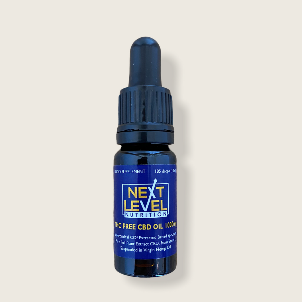 1000mg CBD oil (10ml) - THC free