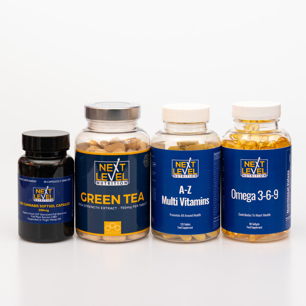 Health and Wellbeing bundle (choice of CBD product)