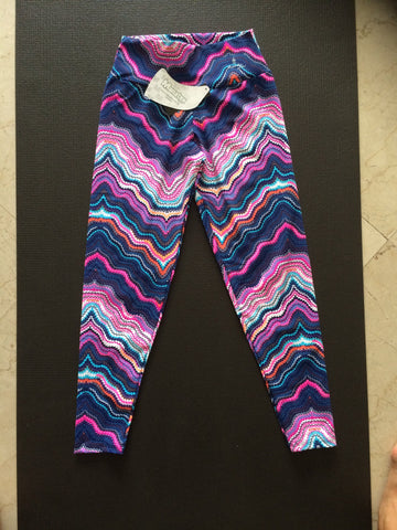 MandyBr Australia ELECTRIC CHEVRONS Leggings