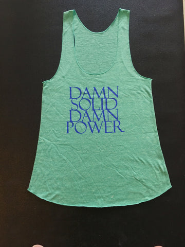 Soul&Society Damn Solid Damn Power in Mint Green