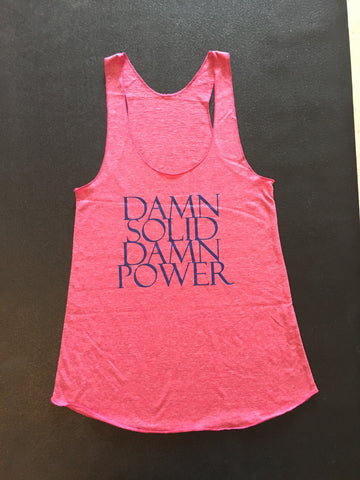 Soul&Society Damn Solid Damn Power in Dark Pink