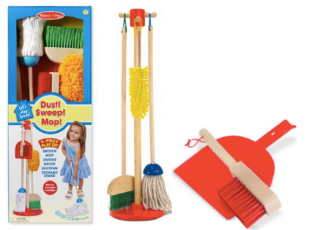 Dust, sweep & mop