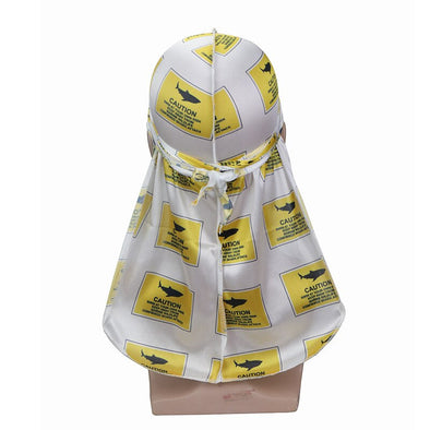 "Legendary ""Caution"" Silky Durag"