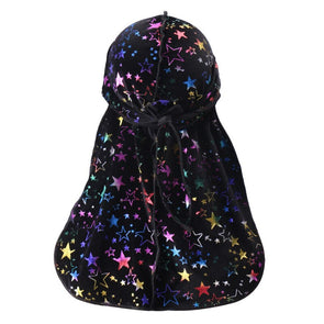 Legendary MultiColor Stars Durag