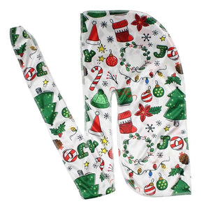 Legendary Christmas Silk Durag