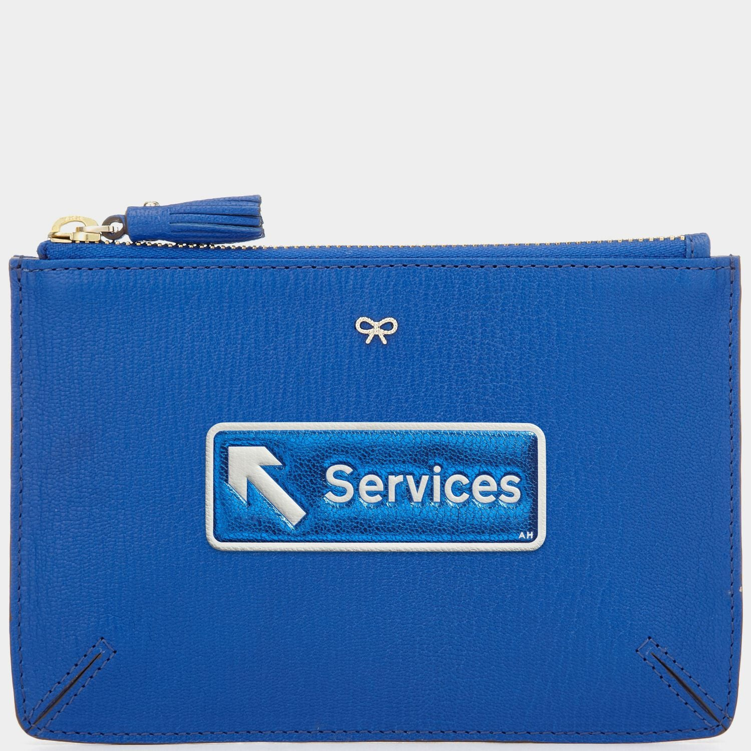 Services Leather Sticker