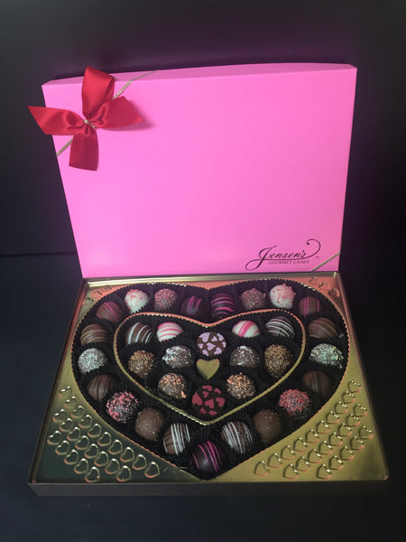 Assorted Valentine Truffles 1 lb