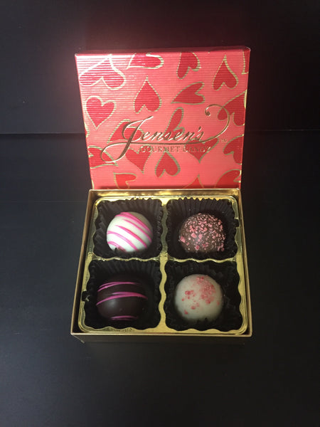 Cherry and Raspberry Truffles 2 oz