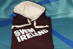 Hoodie (Burgundy with cream hood)