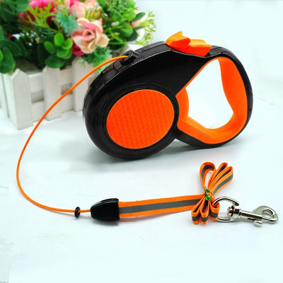 FLUO EXTENDING LEASH