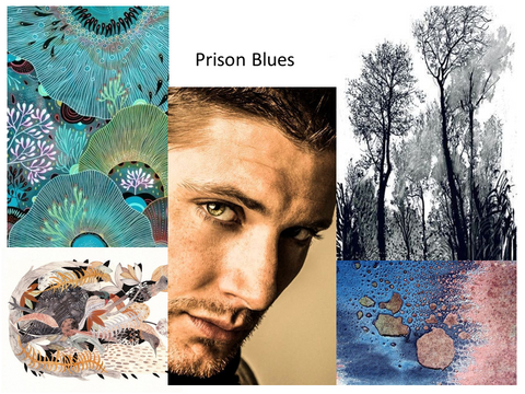 Prison Blues Eau de Parfum Mood Board