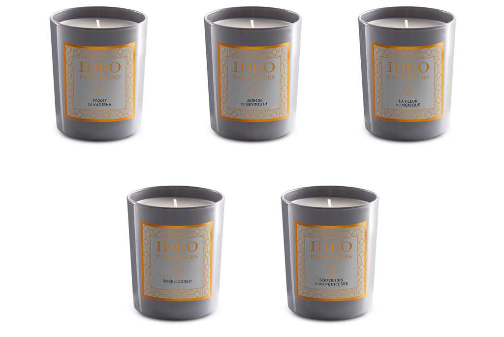 ideo parfumeurs scented candles